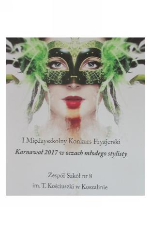 I Międzyszkolny Konkurs Fryzjerski Zespół Szkół Nr 8 W Koszalinie